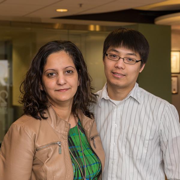 Lamyaa Yousif, Ph.D., M.B.Ch.B., M.Sc. & Jimmy Ngo, M.S.