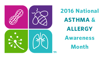 May is Asthma and Allergy Awareness Month