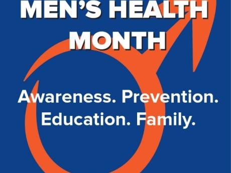 June is Men's Health Month