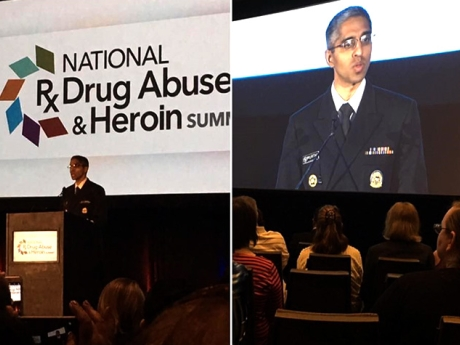 Surgeon General of the United States, Vice Admiral, Vivek Murthy, M.D.